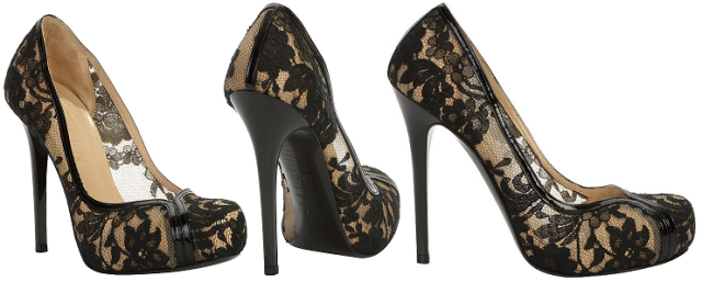 Alexander McQueen Flesh Lace Pump