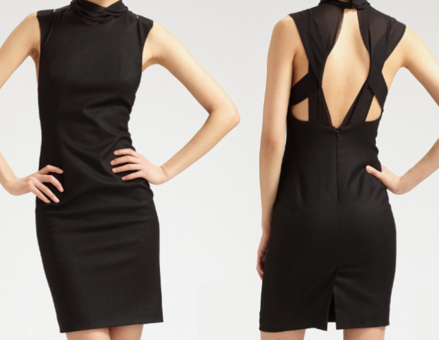 Alexander Wang Stretch Wool Blend Dress