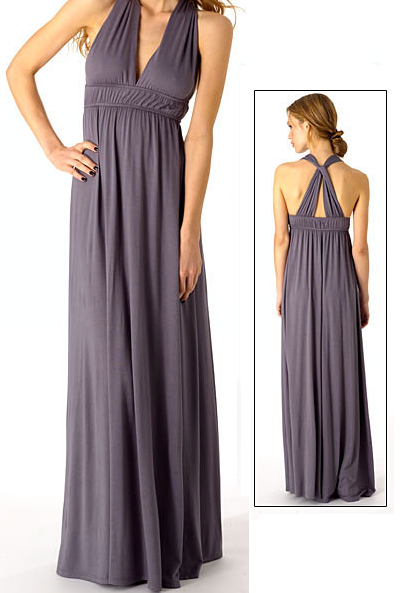 Alloy Halter Maxi Dress