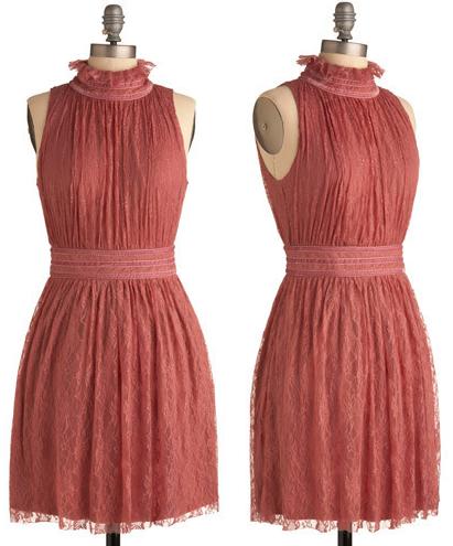 Make You Mauve Dress