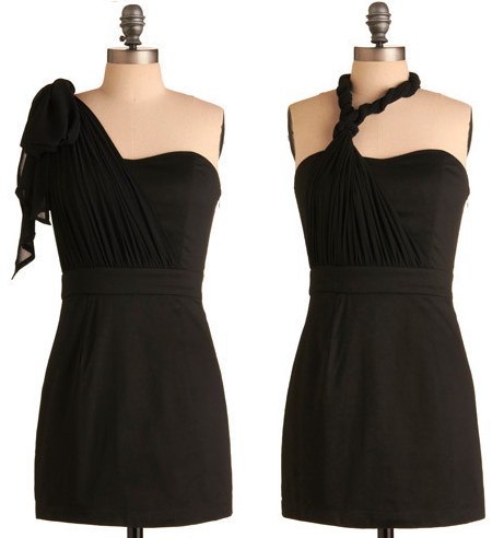 Ebony and Flow Dress