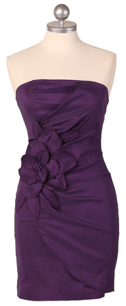 Enchanting Miss Petunia Strapless Dress
