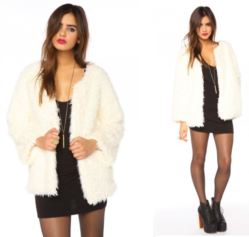 Madeline Faux-Fur Coat