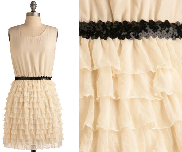 Champagne Fountain Dress