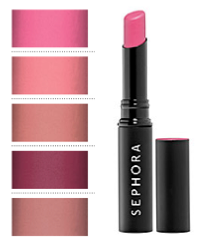 sephora collection pink lipstick