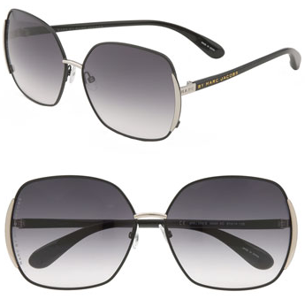 marc by marc jacobs vintage inspired oversized sunglasses