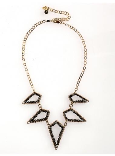 Nina Loren Diamond Spike Necklace