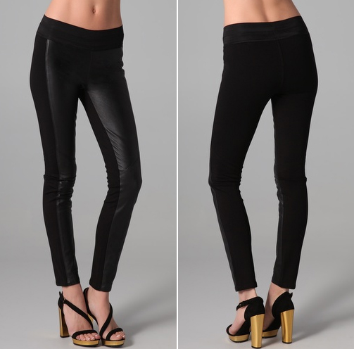 Paige Denim Paloma leather Leggings