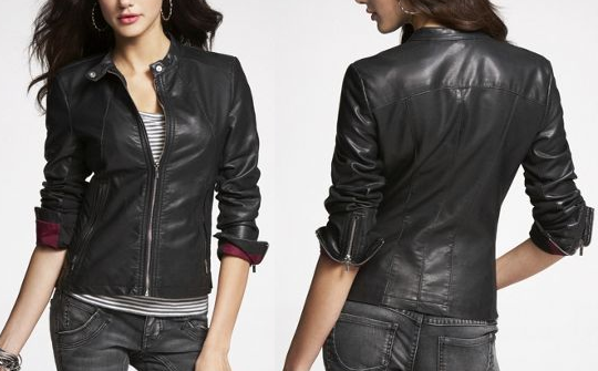 Minus The Leather Moto Jacket