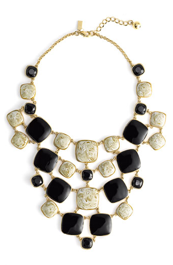 kate spade new york 'cobblestone' bib necklace