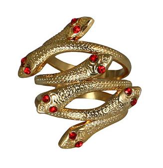 Medusa Snake Ring
