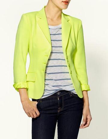 Nanette Lepore Citron Prep School Jacket