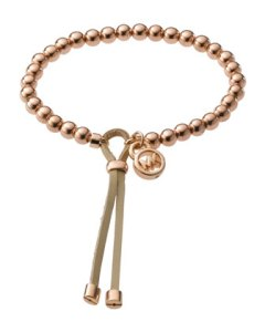 Michael Kors Bead Stretch Bracelet, Rose Golden