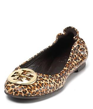 Tory Burch Flats - Reva Leopard