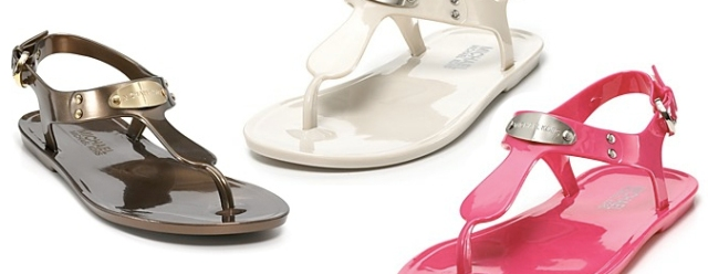 MICHAEL Michael Kors Sandals - MK Plate Jelly