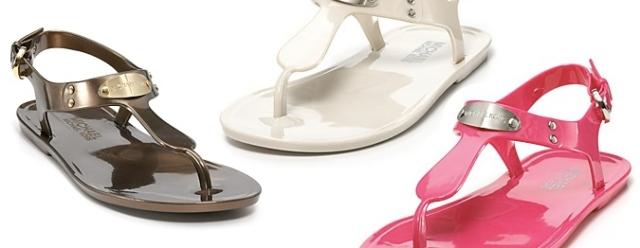 MICHAEL Michael Kors Sandals - MK Plate Jelly