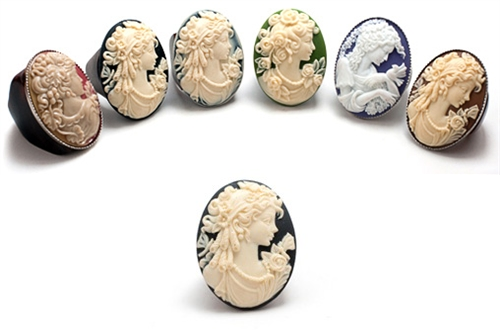 J.Fein Designs Diana Cameo Ring