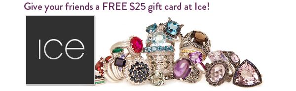 Embly - free $25 gift card at Ice