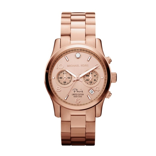 Michael Kors Paris Limited Edition Runway Watch