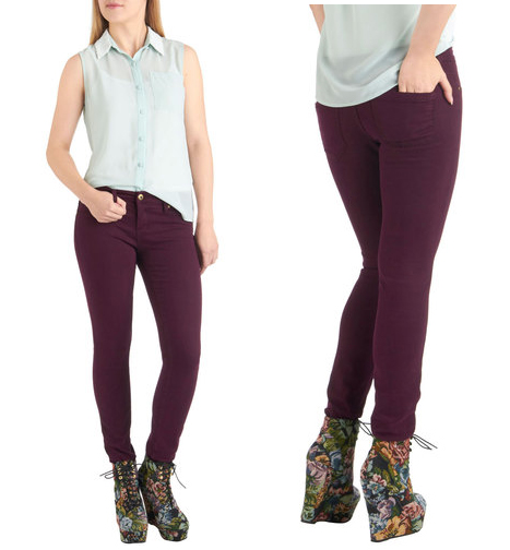 Fruit and Far Between Jeans in Plum