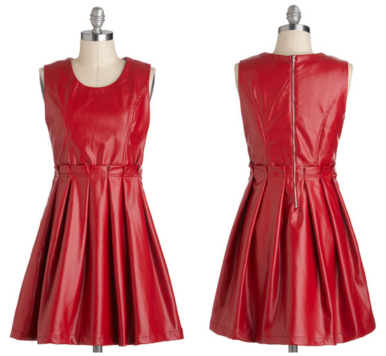 modcloth face your fierce dress