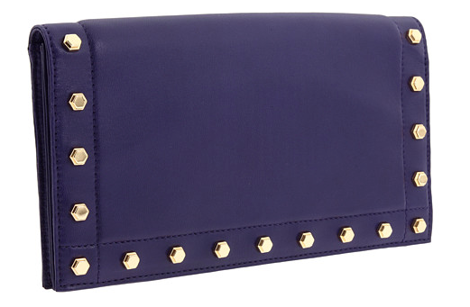 Z Spoke ZAC POSEN Get Happy Studded Clutch
