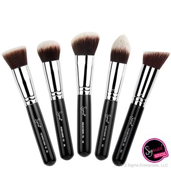 Sigma Sigmax Synthetic Kabuki 5 Brush Kit