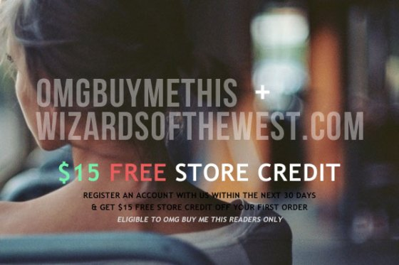 Wizards of the West + OMGbuymeTHIS Promo