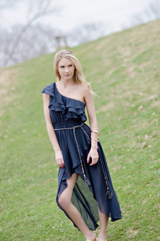 Romantic Ruffles Dress