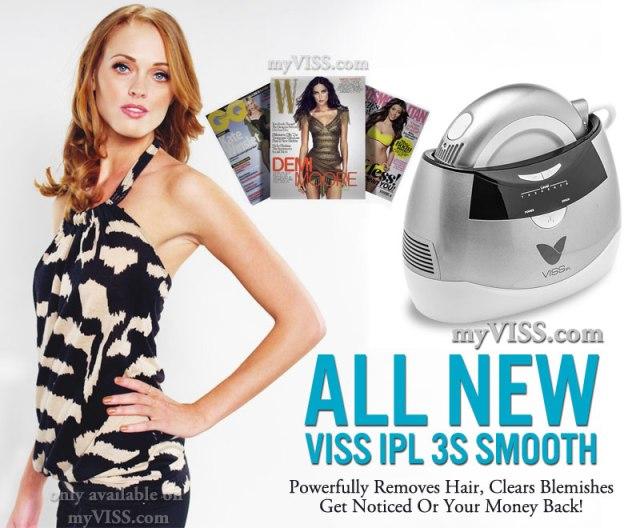 VISS IPL Hair Removal System