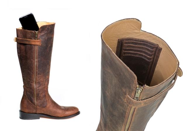 Elizabeth Anne Shoes Brown Walking Boots