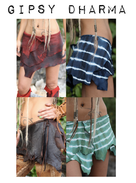 Gipsy Dharma Leather Skirts