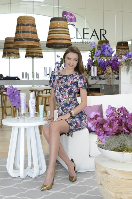 "Miranda Kerr's ""Joyce Dartry"" Park Print Dress by Erdem"