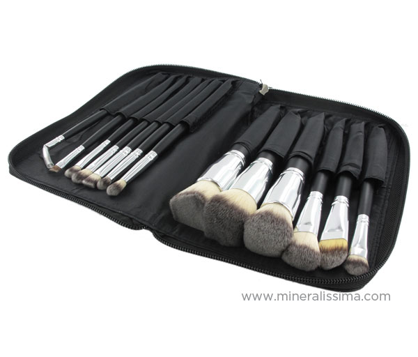 Mineralissima High Quality Synthetic Makeup Brush Set