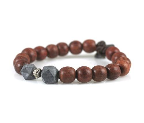 Zen Yoga Bracelet With Black Jade