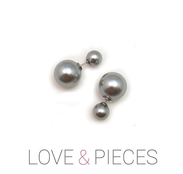 Love & Pieces Double Pearl Earrings