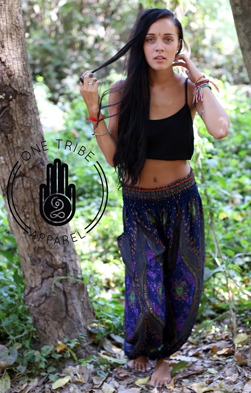 One Tribe Apparel Womens Harem Pants