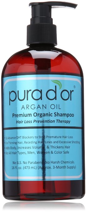 Pura D'or Hair Loss Shampoo Prevention Therapy Shampoo