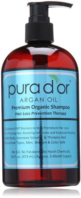 Pura D'or Hair Loss Shampoo Prevention Therapy Shampoo