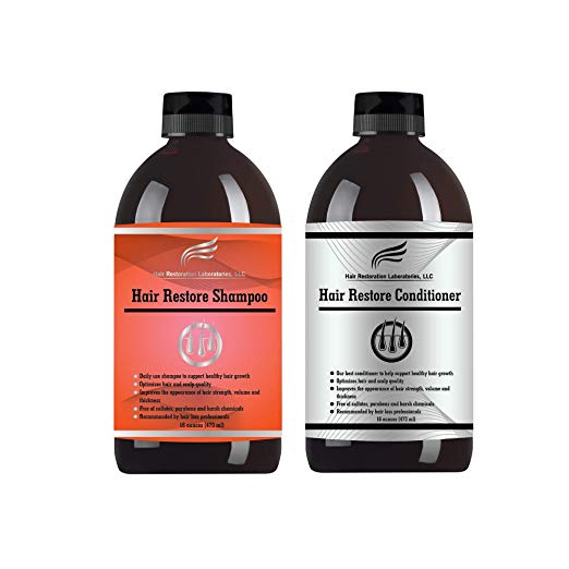 Hair Restoration Laboratories Hair Restore Shampoo and Conditioner Set